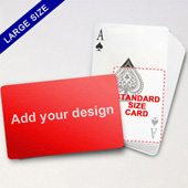 Large Playing Cards Series – Classic Poker (Landscape)