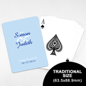 Wedding Invitation - Classic Playing Cards (63.5 x 88.9mm)