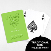 Wedding Save the Date - Personalized Card Deck (63.5 x 88.9mm)