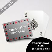 Timeless Frame - Poker With Custom Message (Landscape) (63.5 x 88.9mm)