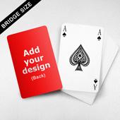 Bridge Index Playing Card
