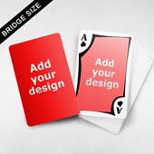 Bridge Size Playing Cards – Frame Back