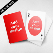 Bridge Size Playing Cards – Oval Back