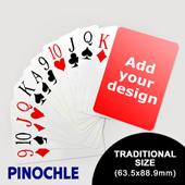Pinochle Fun - Classic Choice with Jumbo Index (63.5 x 88.9mm)