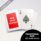 Wide Border Poker Size Cards (63.5 x 88.9mm)