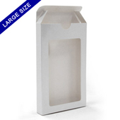 Window tuck box for 54 large size playing cards