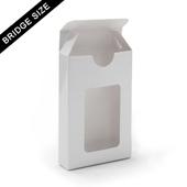 Window tuck box for 54 bridge size cards