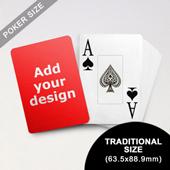 Jumbo Index Cards - Poker Size (63.5 x 88.9mm)