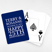 Save the Date - Playing Cards with Jumbo Index