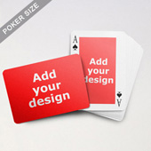 Classic Custom Front and Landscape Back Playing Cards