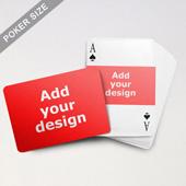 Landscape Photo Custom Font and Landscape Back Playing Cards