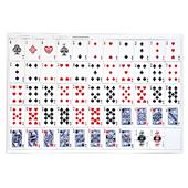 Uncut Sheet Playing Cards - Poker Size