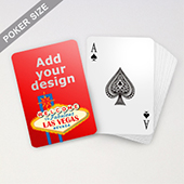 Las Vegas Wedding Playing Cards with your Photos