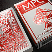 Impressions Foil Red Back Playing Cards