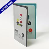 Custom Game Instruction Booklet (large size)
