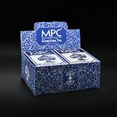Impressions Foil Blue Back Half Brick (6 decks)