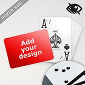 Custom LED UV Embossed Braille Playing Cards
