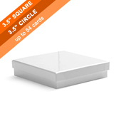 Plain Rigid Box for Large Square Cards