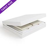 White Double Deck Display Box Tarot Size