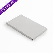 Plain sleeve box for 18 tarot size cards
