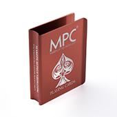 Custom Red Aluminum Card Clip