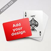 Custom Back MPC Standard Poker Cards (Landscape)