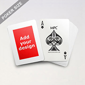 Wide Border Poker Size Cards