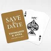 Personalized Save the Date Card Deck