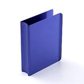 Blue Playing Card Clip