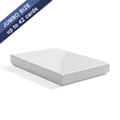 Plain Rigid boxes for playing cards-3.5X5X42pcs