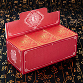 CHAO Vermillion Red Ed. Full Brick (12 decks)