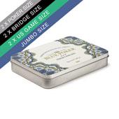 Custom Tin Box For 2 Playing Card Decks
