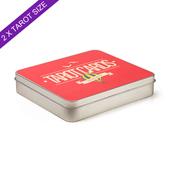 Custom Labeled Tin Box For Double Tarot Deck