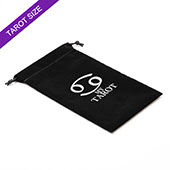 Custom Black Tarot Velvet Bag