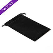 Black Velvet Bag For Tarot Cards