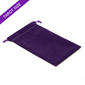 Purple Velvet Bag For Tarot Cards