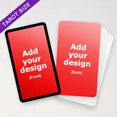 Personalized Black Border Tarot Cards