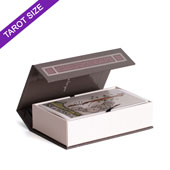 Custom Tarot Size Magnetic Book Box