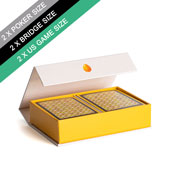 Custom Double Poker Size Magnetic Book Box