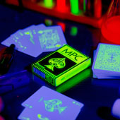 Fluorescent Neon Ed. Playing Cards