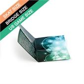 Custom Cross Fold Booklet for Skat/Bridge/US Size