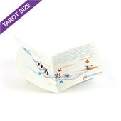 Custom Cross Fold Booklet for Tarot Size