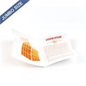 Custom Cross Fold Booklet for Jumbo Size