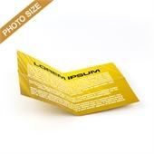 Custom Cross Fold Booklet for Photo Size