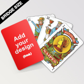Custom Spanish playing card
