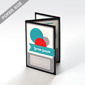 Custom Instruction Booklet (poker size-6 sides)