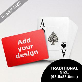Jumbo Index Cards - Poker Size (Landscape) (63.5 x 88.9mm)