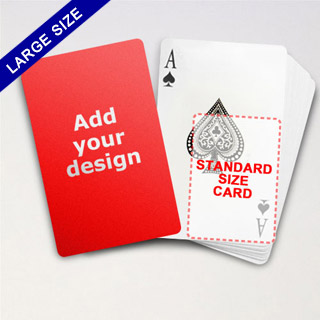 Large Playing Cards Series – Classic Poker