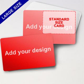 Big Creator - Blank Game Card (Landscape)