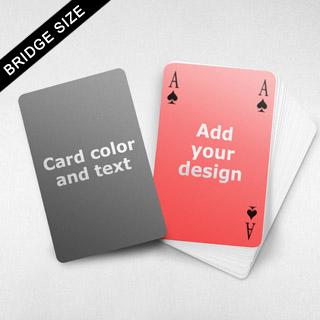 Message Front Bridge Card – 4-Index